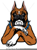 Boxer Dog Clipart Free Image