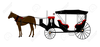 Free Horse Drawn Carriage Clipart Image
