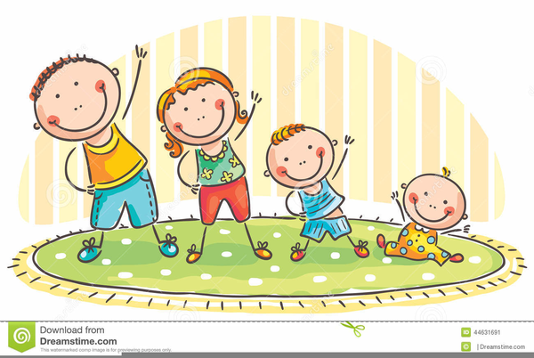 Children Doing Exercise Clipart Free Images At Clker Com Vector Clip Art Online Royalty Free Public Domain