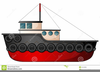 Clipart Tugboat Image