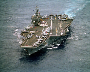 Uss Constellation (cv 64) Underway. Image