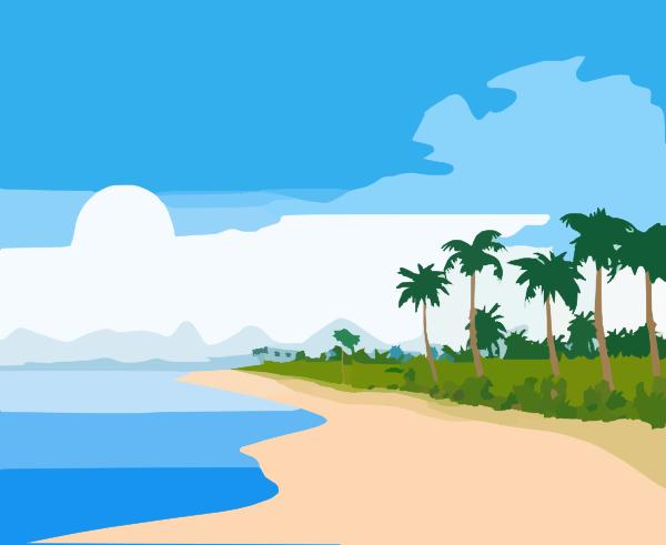 beachfront clip art at clker com vector clip art online royalty rh clker com