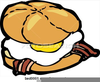 Bacon And Egg Clipart Image