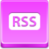 Free Pink Button Rss Button Image