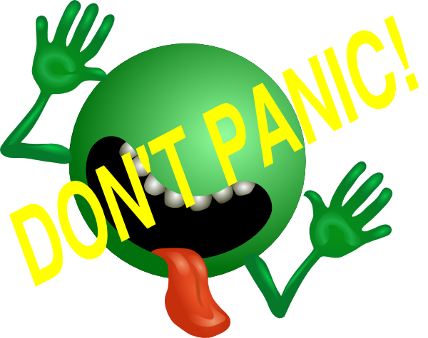 don t panic clip art at clker com vector clip art online royalty rh clker com galaxy clipart black and white galaxy clipart black and white