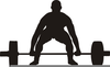 Free Clipart Weightlifter Image