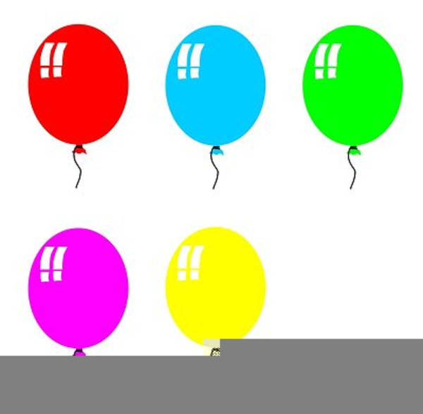 free printable balloon clipart free images at clker com vector rh clker com