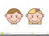Girl Smiley Face Clipart Image