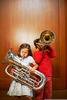 Playing Brass Instruments Image