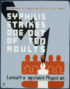Syphilis Strikes One Out Of Ten Adults Consult A Reputable Physician. Clip Art