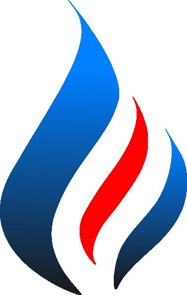 Blue Flame (tighter) Clip Art at Clker.com - vector clip ...  Blue Flames Clip Art