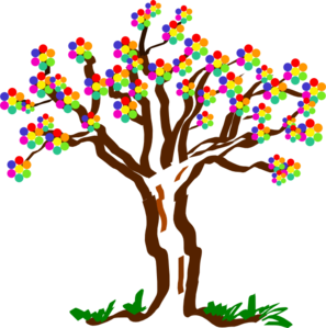 Aiflowers Tree Clip Art