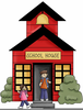 Clipart Of School Houses Image