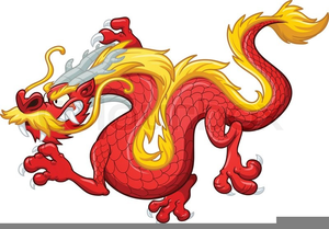 Animated chinese dragon