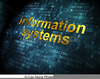 Information Systems Clipart Image