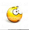Clipart Of A Nervous Face Image