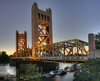Tower Bridge Sacramento Edit Image