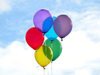 Balloon Balloons Blue Clouds Cute Favim Com Image