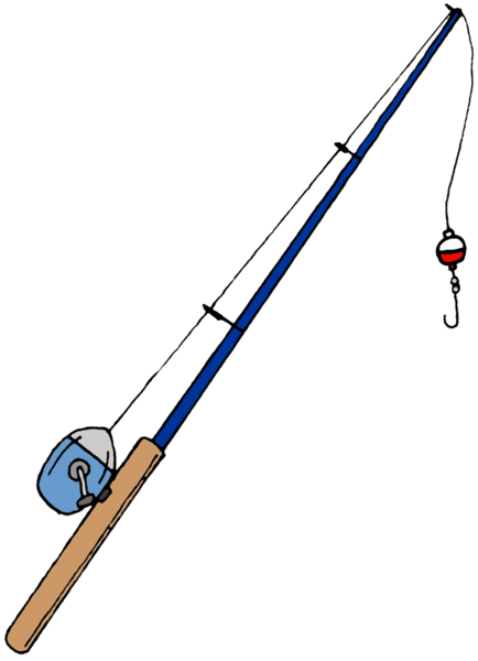 fishing pole image vector clip art online royalty free u0026amp public fishing rod 434x600