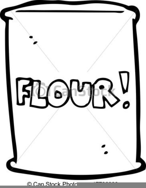 bag of flour clipart free images at clker com vector clip art online royalty free public domain clker
