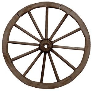depositphotos big vintage rustics wagon wheel free images at clker rh clker com pioneer wagon wheel clipart wagon wheel clip art black and white