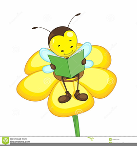 Funny Cliparts Flower Cartoon Image