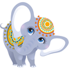 Baby Indian Elephant Image