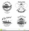 Hunting And Fishing Vector Clipart Image