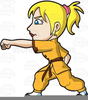 Kung Fu Clipart Image