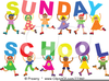 Childrens Sunday School Clipart Image