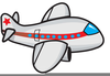Airplane Runway Clipart Image