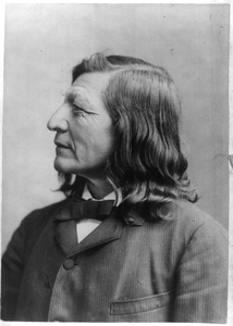 Luther Standing Bear, Dakota Chief, 1868-1939 Image