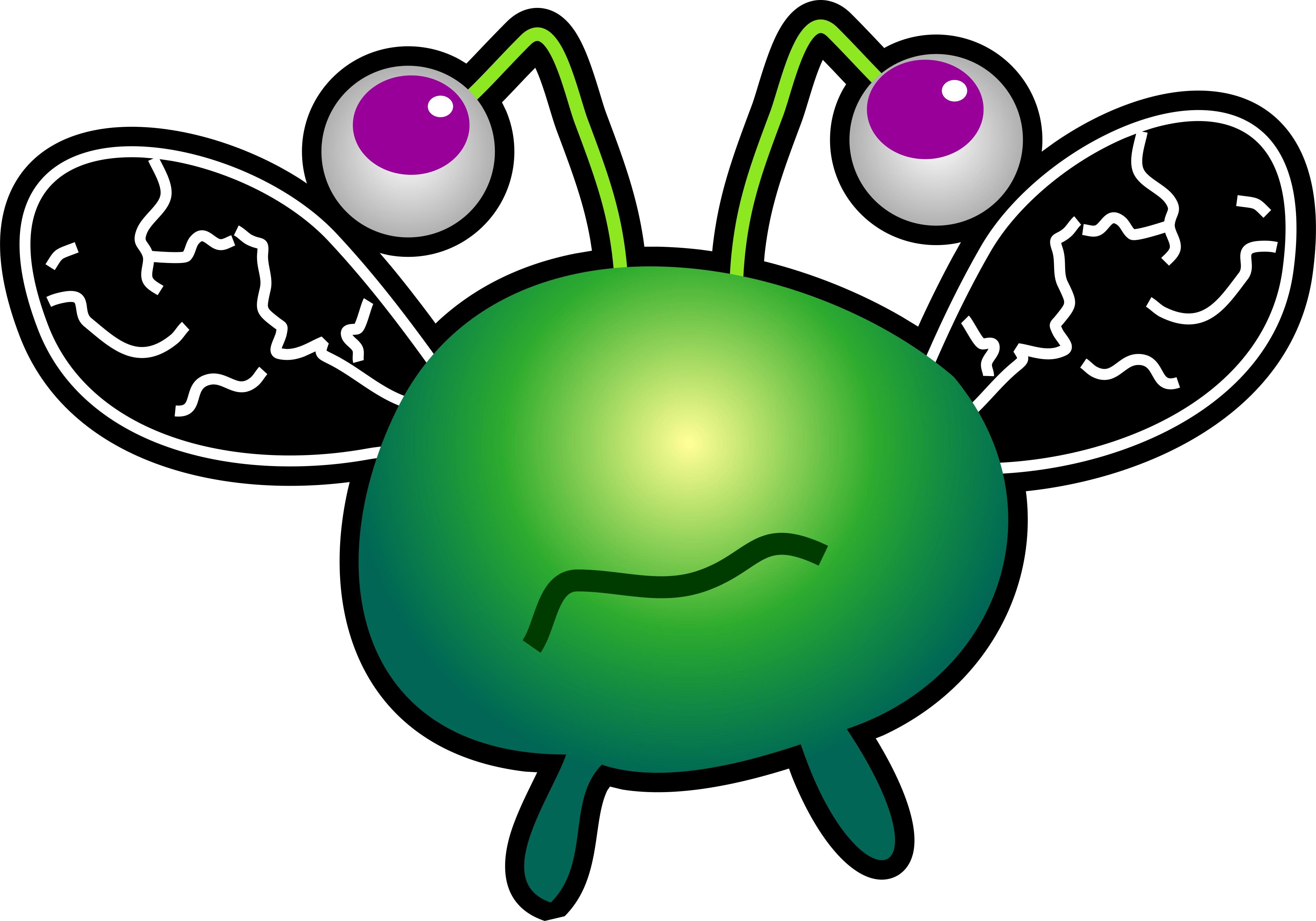 Germ Virus | Free Images at Clker.com - vector clip art ...