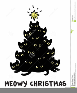 Blinking Christmas Tree Clipart Image