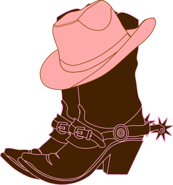 Cowgirl Boots Clip Art at Clker.com - vector clip art online, royalty ...