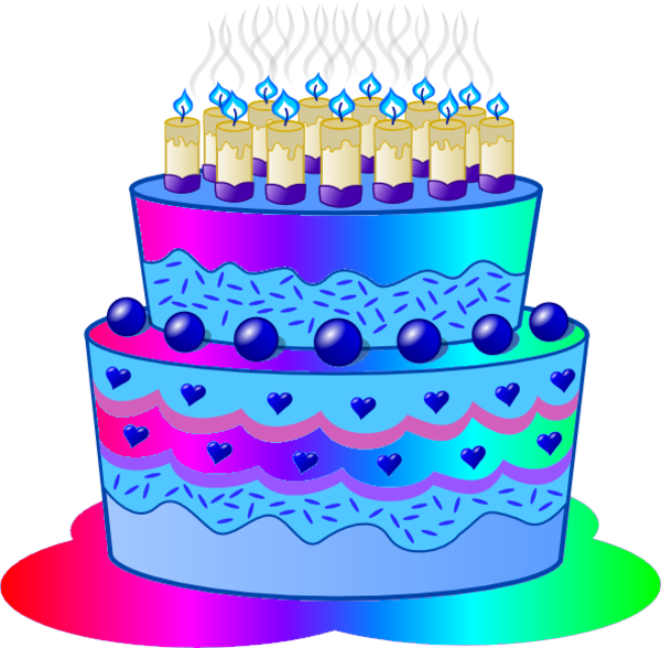 Birthday Cake Photos Clipart : Birthday Cake D Free Images at Clker.com - vector clip ...