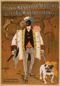 Original Nashville Students In Alliance With Gideon S Big Minstrel Carnival Image