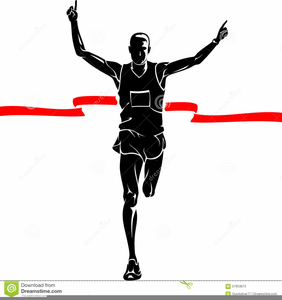 Marathon Runner Clipart | Free Images at Clker.com ...