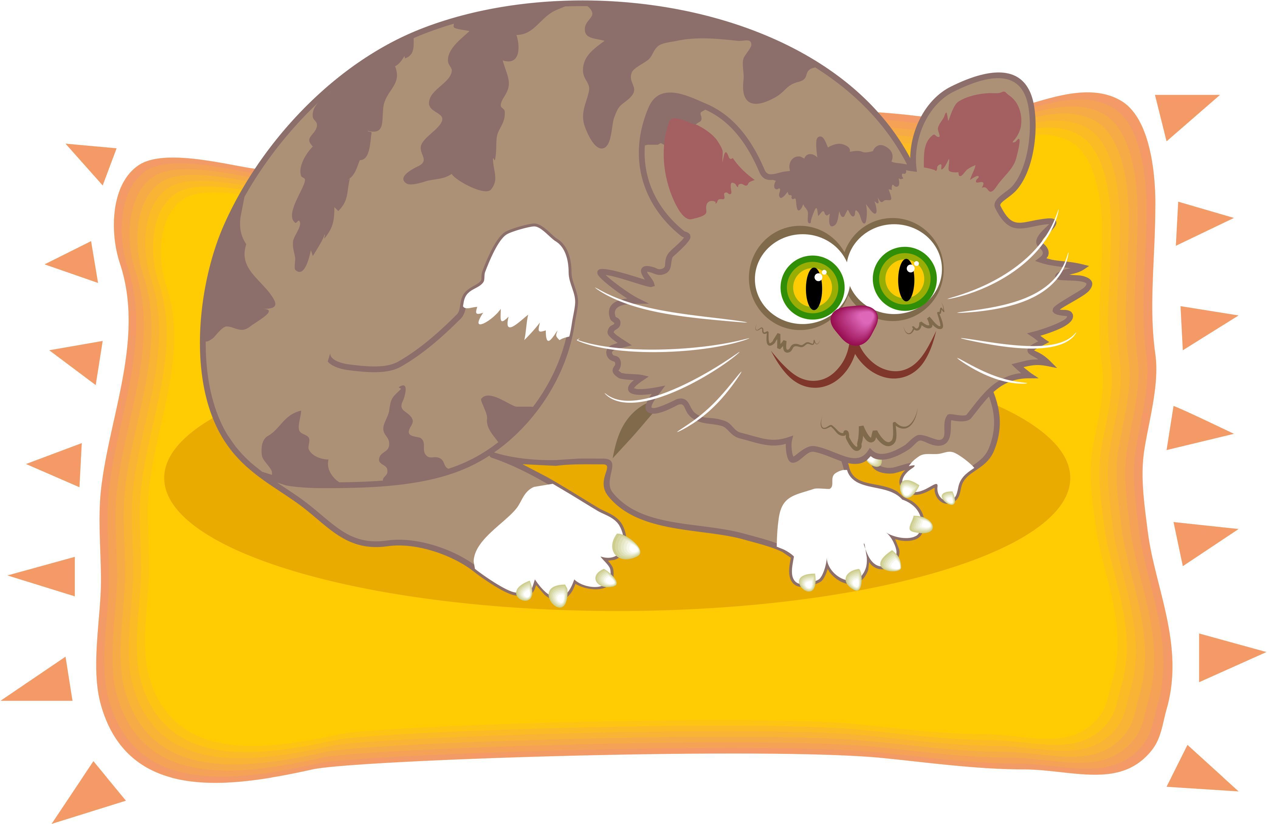 Fat Cat Mat Fat Cat on a Mat Colou