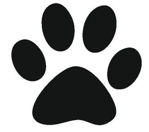 pawprint clipart pawprint free images at clker com vector clip rh clker com clip art paw print border clip art paw prints dog