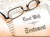 Last Will And Testament Clipart Image