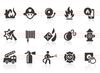 0069 Fire Department Icons Image