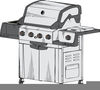 Free Gas Grill Clipart Image