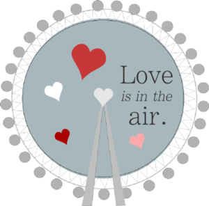 Love Is In The Air London Eye Image