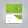 Curled Corner Business Card 1 Image