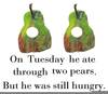 Hungry Caterpillar Free Clipart Image
