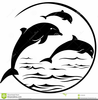 Clipart Dolphins Jumping Image