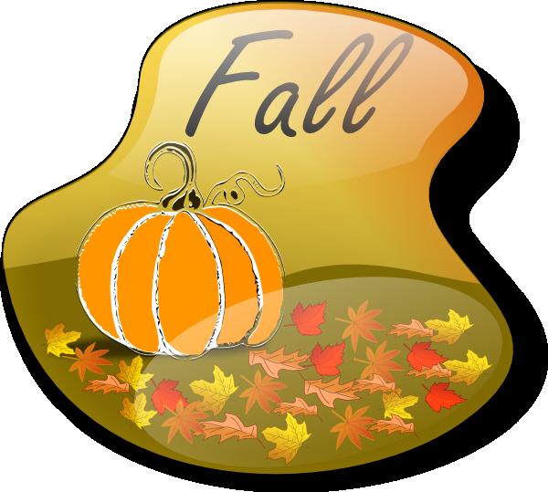 Fall Sign 1 Clip Art at Clker.com - vector clip art online ...