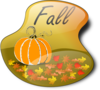 Fall Sign 1 Clip Art