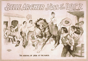 Belle Archer In Jess Of The Bar Z Image